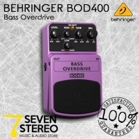 Behringer BOD400 - Efek Bass Overdrive, Authentic Tube-Sound Overdrive