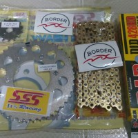 Gear SSS, Rantai DID HD Gold 15T Xabre, R15
