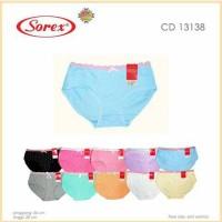 harga Sorex 13138 | Celana Dalam / CD Midi Cewek Hiasan Renda Pita Tokopedia.com
