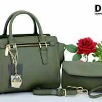 Tas Branded DKNY Wanita 6006#2in1
