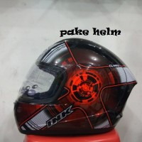 HELM INK CL MAX #4 BLACK RED FLUO FULL FACE