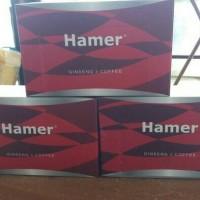 permen kopi Hamer ginseng & coffee candy per box isi 30pcs