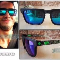 Spy livery gk (kacamata pria gagang besi motocross motor sport helm)