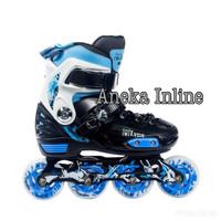 harga Sepatu Roda Murah LYNX BM135 Recreational Inline Skate - Blue Tokopedia.com