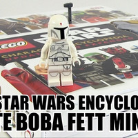 Lego Book Star Wars Character Encyclopedia (include White Boba Fett)