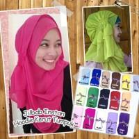 Jilbab / Hijab / Kerudung / Khimar Kerut Tumpuk Murah