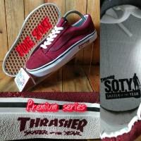 sepatu vans thrasher/vans old scool terbaru/vans tharasher/vans skater