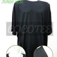 Jual Kaos Polos Jumbo Size / Big Size Katun Combed 30s Size 4XL / XXXXL Murah