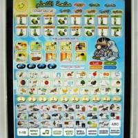 Jual Playpad Arab 3 Bahasa/Mainan Edukasi/Mainan Anak Murah