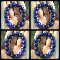 Gelang Batu Akik Lapis Lazuli Biru Mizone Natural
