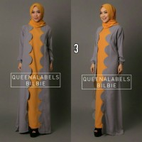 Gamis / Pashmina / Branded BILBIE DRESS by QUEENALABELS