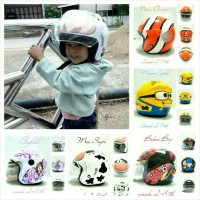 Helm Anak 3-9 th SNI Moo Sapi, Nemo, Minion, Boboiboy, Sofia