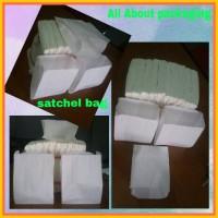 Satchel bag kertas / tempat burger / bakpau / gorengan