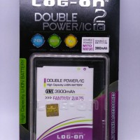 BATERAI /BATTERY MITO FANTASY 2 A75 LOG ON DOUBLE POWER
