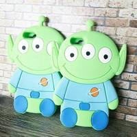 silicone case alien toy story iphone 5 5s 5SE 5C 6 6s 6plus 6splus