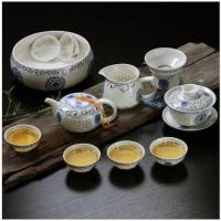 Kung Fu Tea Cup Set/Design Unik Ming And Of Jingdezhen Porcelain Brand