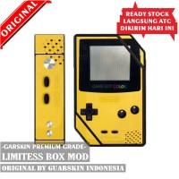 Original Garskin Skin Mod Vape Limitless Box - Game Boy