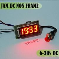 harga Jam Digital LED RED non frame motor & mobil clock watch DC 6-30v 0.36' Tokopedia.com