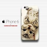 China Cat iPhone 6 - 6s Custom Hard Case