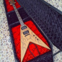 Gitar Original BC Rich IT Speed V Laser Flame Hardcase Coffin Case