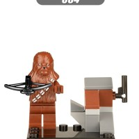 Chewbacca Brown 084 Star Wars Minifigure Lego KW XINH