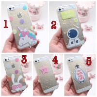 Case Jelly Starry Glitter Samsung J1 Ace, J2, J3, J5, J7,Prime,S7 Edge