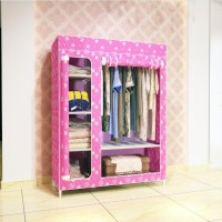 NEW Multifunction Wardrobe / Cloth Rack with cover lemari pakaian rak