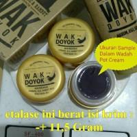 Jual cream krim wak doyok wakdoyok rambut jambang sample jar original 100% Murah