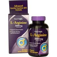 L-Arginine 3000 Mg | 90 Tablet -- Natrol