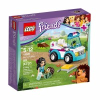 Lego Friends V.E.T Ambulance 41086 Mainan Blok & Puzzle