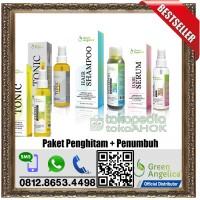 Jual PAKET PENGHITAM + PENUMBUH RAMBUT GREEN ANGELICA | LEBIH HEMAT 70.000 Murah