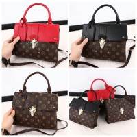 Tas Louis Vuitton One Handle Flap Bag (Tas Wanita Import Tas LV Murah)