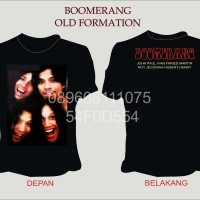 harga Kaos Boomerang Old Formation Formasi Lama Boomers Cover Album Segitiga Tokopedia.com