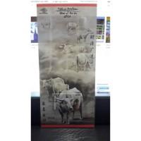 Souvenir Sheet Perangko IDN Serie Kerbau Thn 2009