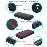 Redpepper Lifeproof HTC ONE M8 - Black Murah