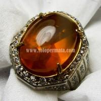 Harga batu akik permata fire opal wonogiri ring | Pembandingharga.com