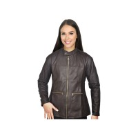 Jaket Wanita / Fashion Wanita / Casual / Trendy WRCx351 Dark Brown