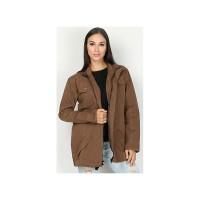 Jaket Wanita / Mantel / Fashion Wanita / Casual / Trendy ISCx315 Brown