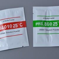 Serbuk bubuk kalibrasi ph meter calibrate powder 6.86 & 4.0 ( 1 set )