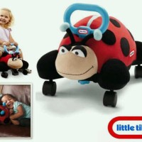 pillow racer little tikes lady bug