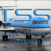 Turbine Sound Studio (TSS) - Fokker 100 RR
