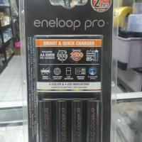 Panasonic Smart & Quick Charger Eneloop Pro 2 hrs 4 Batt / Quick 2 jam