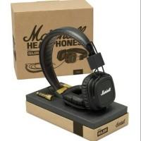 Marshall Major Headphones On Ear With Mic Original - Black
