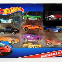 Hot Wheel Racing Car (isi 10pcs)