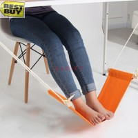 Pijakan Kaki Meja / Mini Hammock Tablet Foot Rest - Orange G622