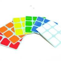 Jual SET STICKER stiker rubik 3x3 replacement sticker set 3x3x3 Murah