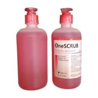 OneScrub OneMed 4% Hand Scrubs +dispenser 500ml/cc