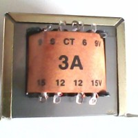 Trafo 3a Ct 6v 9v 12v 15v King 110v 220v Transformator Step Down