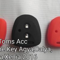 silicone key calya sigra 2016 avanza xenia remote cover toyota