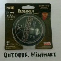 MIMIS BENJAMIN HOLLOW POINT PELLETS CALL 177. .4.5MM USA